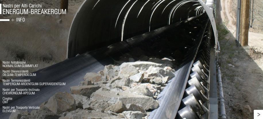 Гумени ленти за високо натоварване ENERGUM - BREAKERGUM